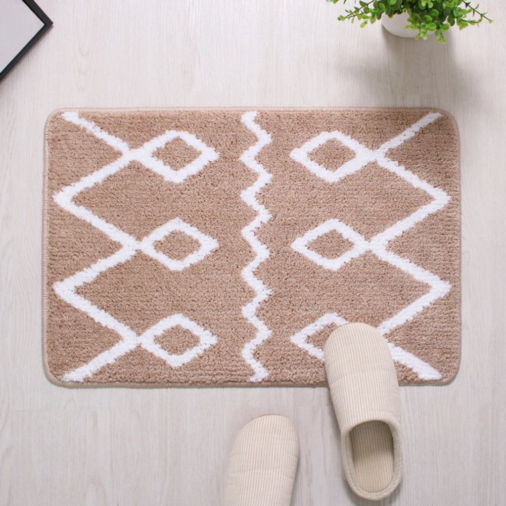 Carpet,indoor mat,toilet room door non-slip mat-D 180x200cm(71x79inch)