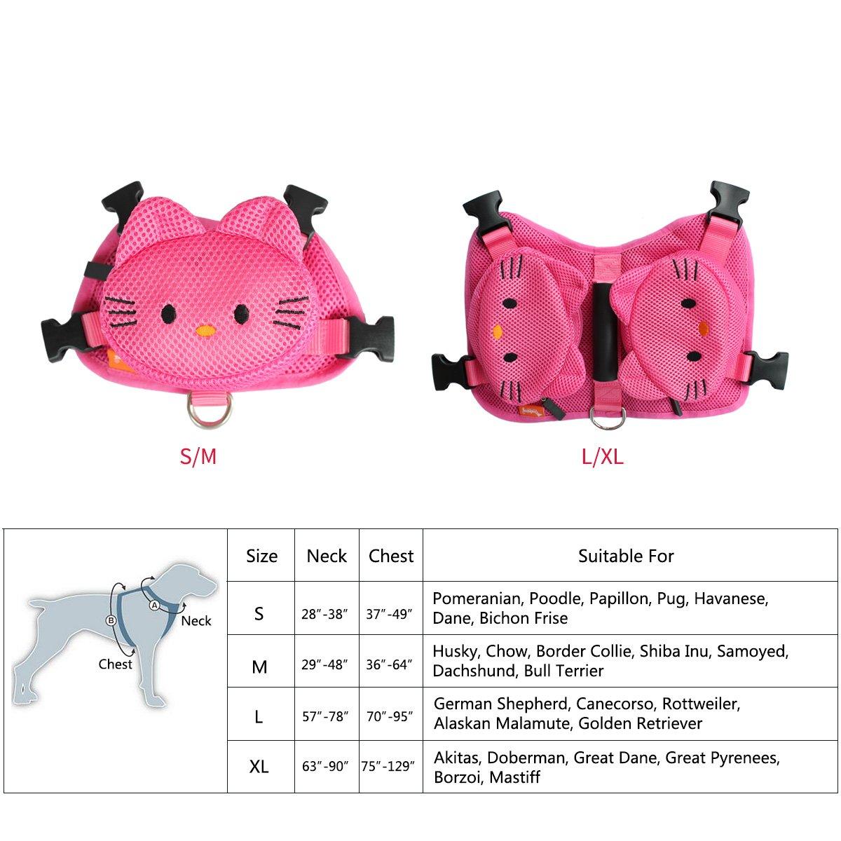 Ondoing Impermeable Proteccion Perros Perro Mochila Cute Cartoon ...