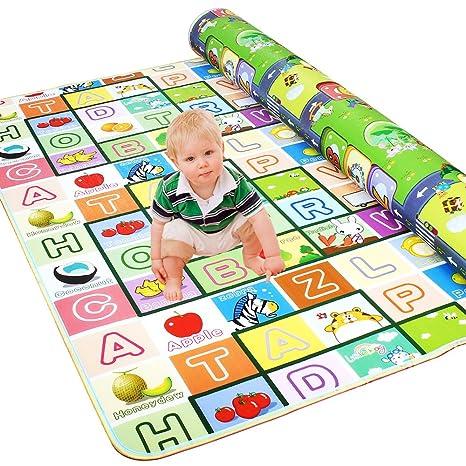 Golden Rule Alfombra Para Ninos Para Jugar Con Bebes Y Bebes Juego