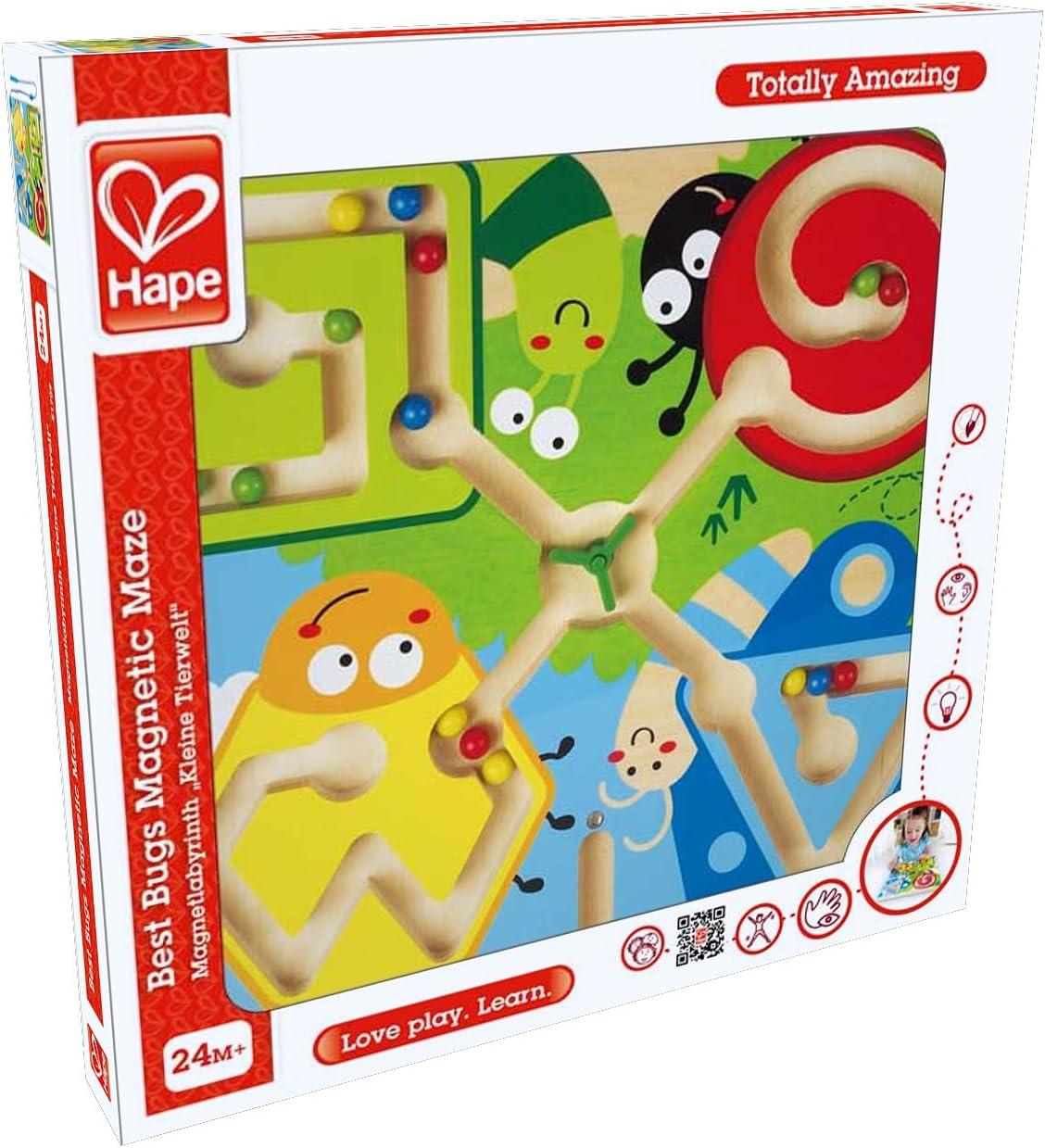 Hape - Magnético de Insectos, juego para bebe (0HPE1709) , color, modelo surtido