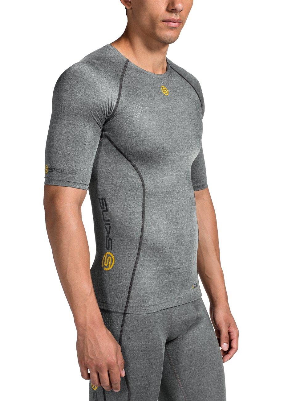 SKINS A200 Mens Top Short Sleeve