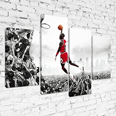 MPS020 Michael Jordan Slam Dunk Impossible Is Nothing Framed Ready ...