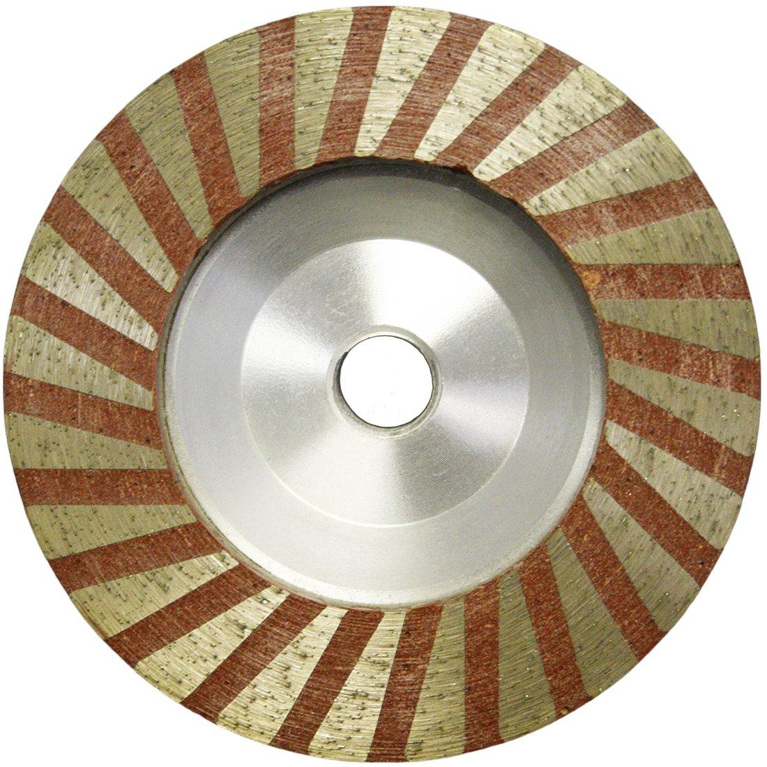 4'' Slayer Resin filled Turbo Cup Wheel Alum Backer - Medium by Slayer