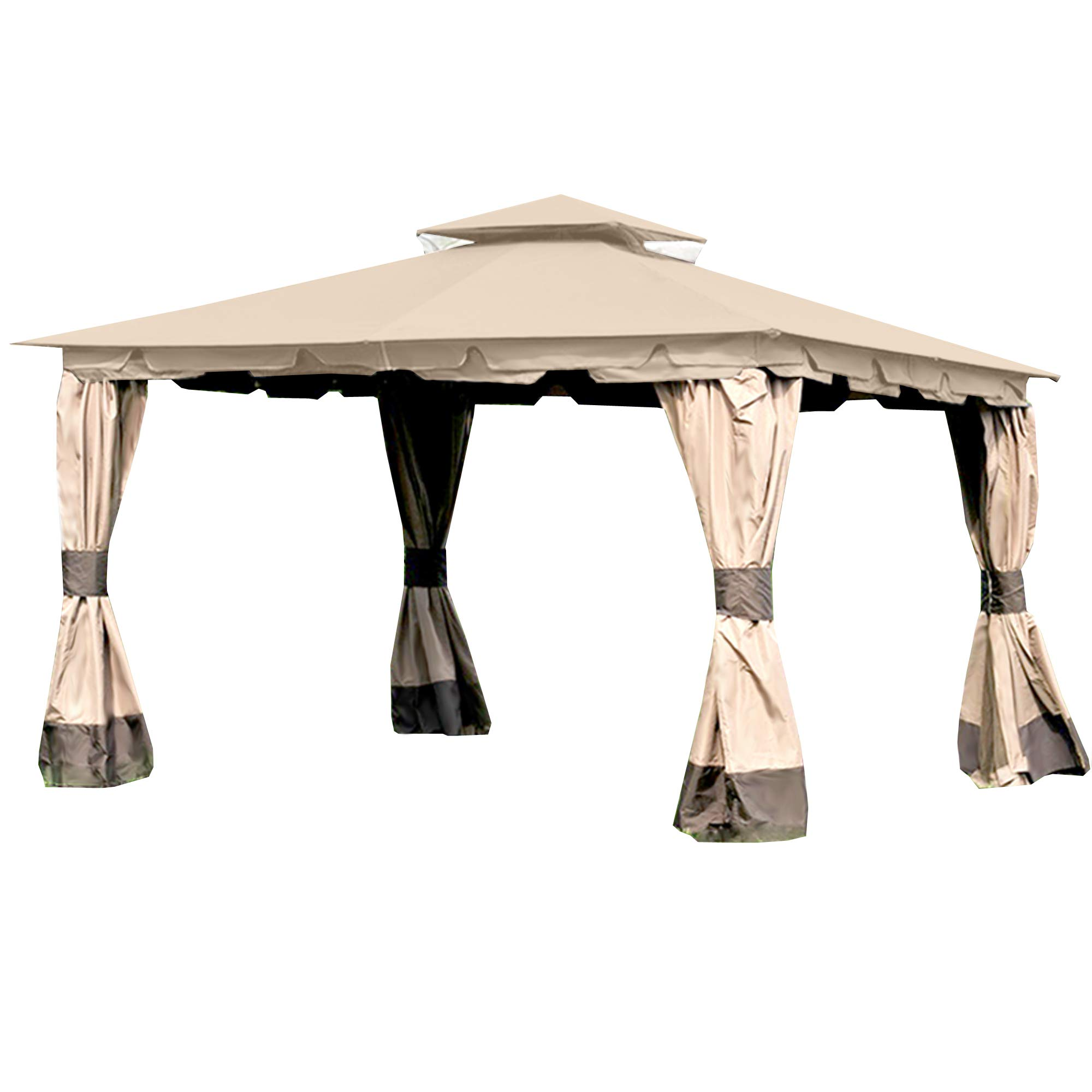 Garden Winds Replacement Canopy for the Monterey Gazebo with RipLock Technology