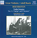 Beethoven : Sonates Pour Violon Et Piano