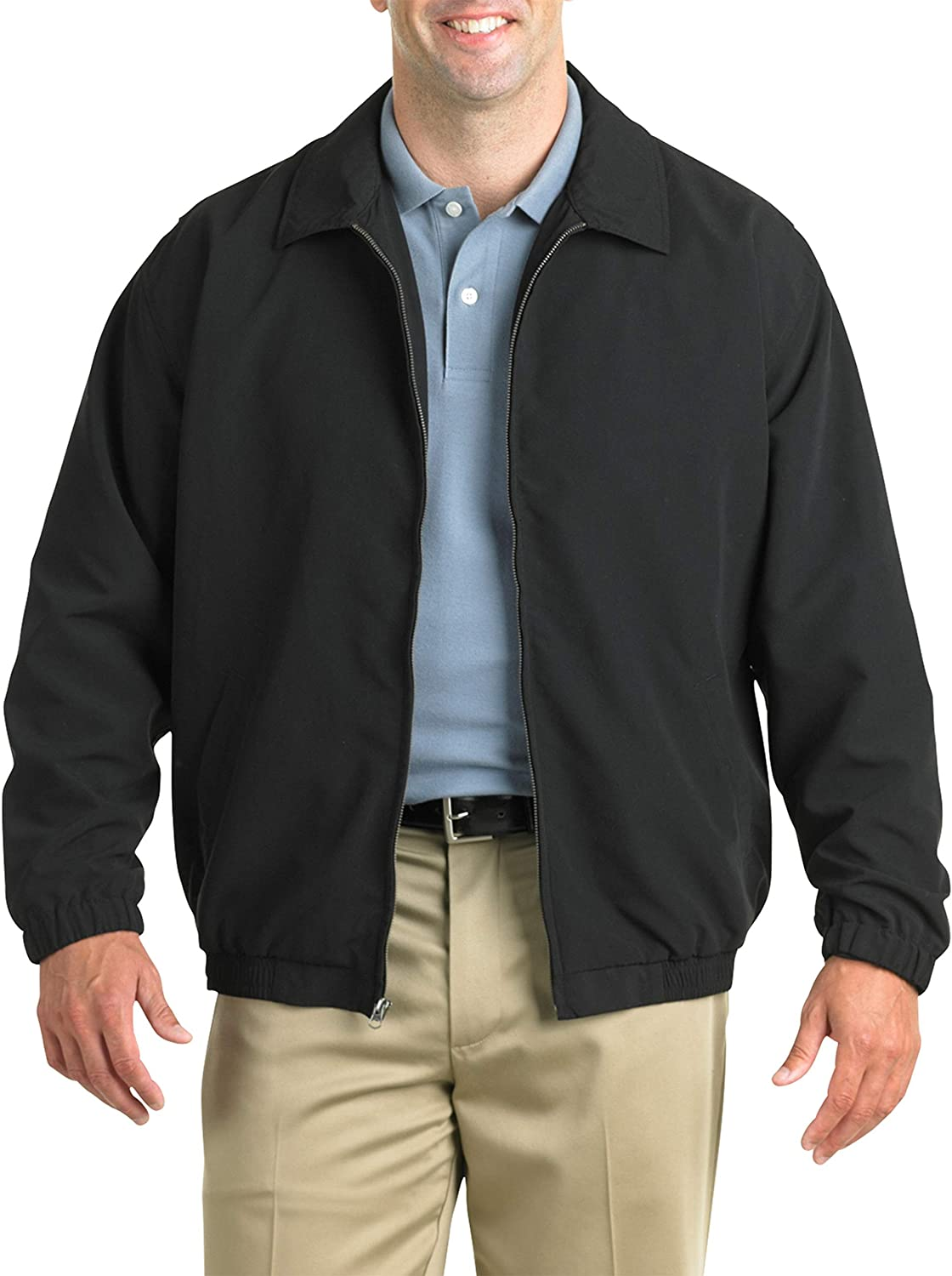 Harbor Bay by DXL Big and Tall Golf Jacket: Clothing