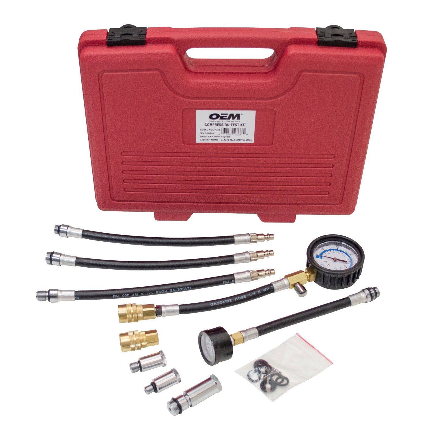 OEMTOOLS 27266 Master Compression Test Kit by OEMTOOLS