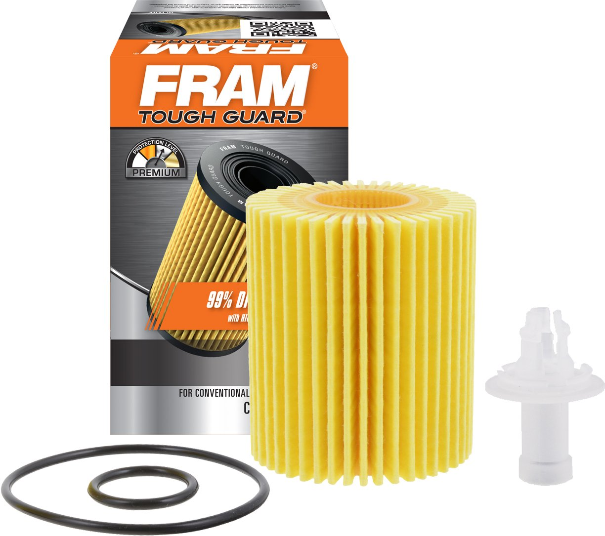 FRAM TG10158 Tough Guard Full-Flow Cartridge Oil Filter TG10158-1