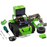 Robot Building Kit 6-in-1 Robotics for Kids, Qoopers STEM Education Toy, Arduino Coding & Graphical Programming, Robobloq DIY Metal Blocks, Gifts for Boy Or Girl Age 8+