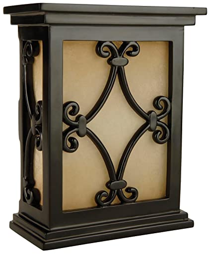 Craftmade CH1515 BK Hand Carved Scroll Design Chime
