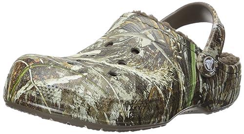 18bf5c29e4799 crocs Unisex Winter Realtree Max-5 Clog , Chocolate/Chocolate, 4 US Men