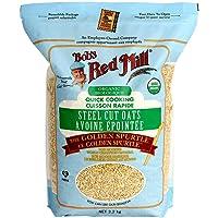 Bob's Red Mill Steel Cut Ouats Quick Cooking 3.17 KG, 3.2 Kilogram