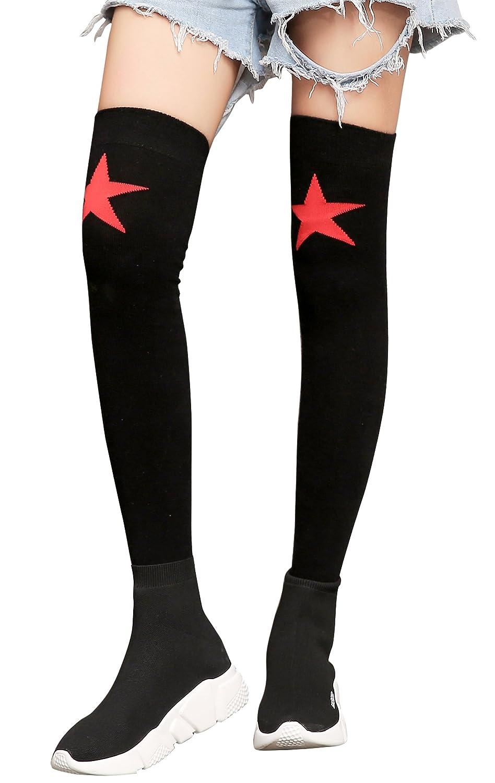 e960cc438 Women Ladies  Cotton Over Knee Socks