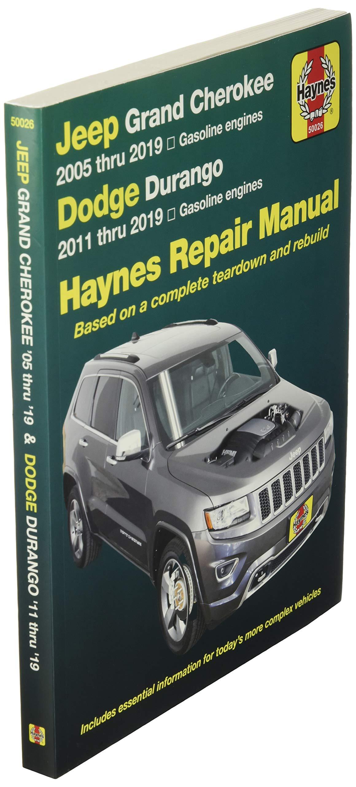 Jeep Grand Cherokee 2005 Thru 2019 And Dodge Durango 2011 Thru 2019 Haynes Repair Manual Based On Complete Teardown And Rebuild Hayne S Automotive Repair Manual Editors Of Haynes Manuals Fremdsprachige Bücher