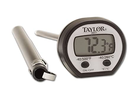 digital thermometer chemistry. taylor precision products high temperature digital thermometer chemistry a