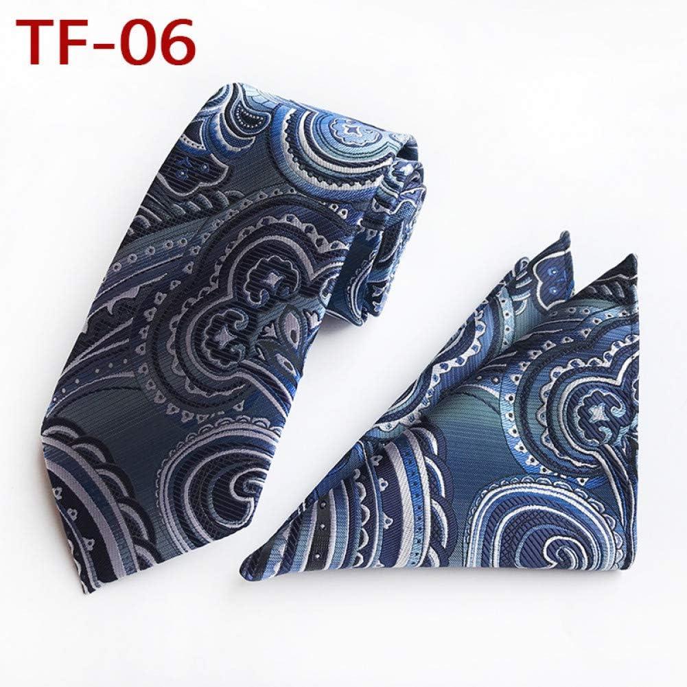 CDBGPZLD Conjunto y Corbata Floral de la Serie Azul Marino y ...