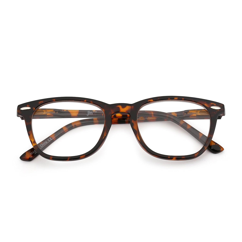 Gafas de Gafas Lectura Retro Bisagras de Resorte Wayfarer Retro ...