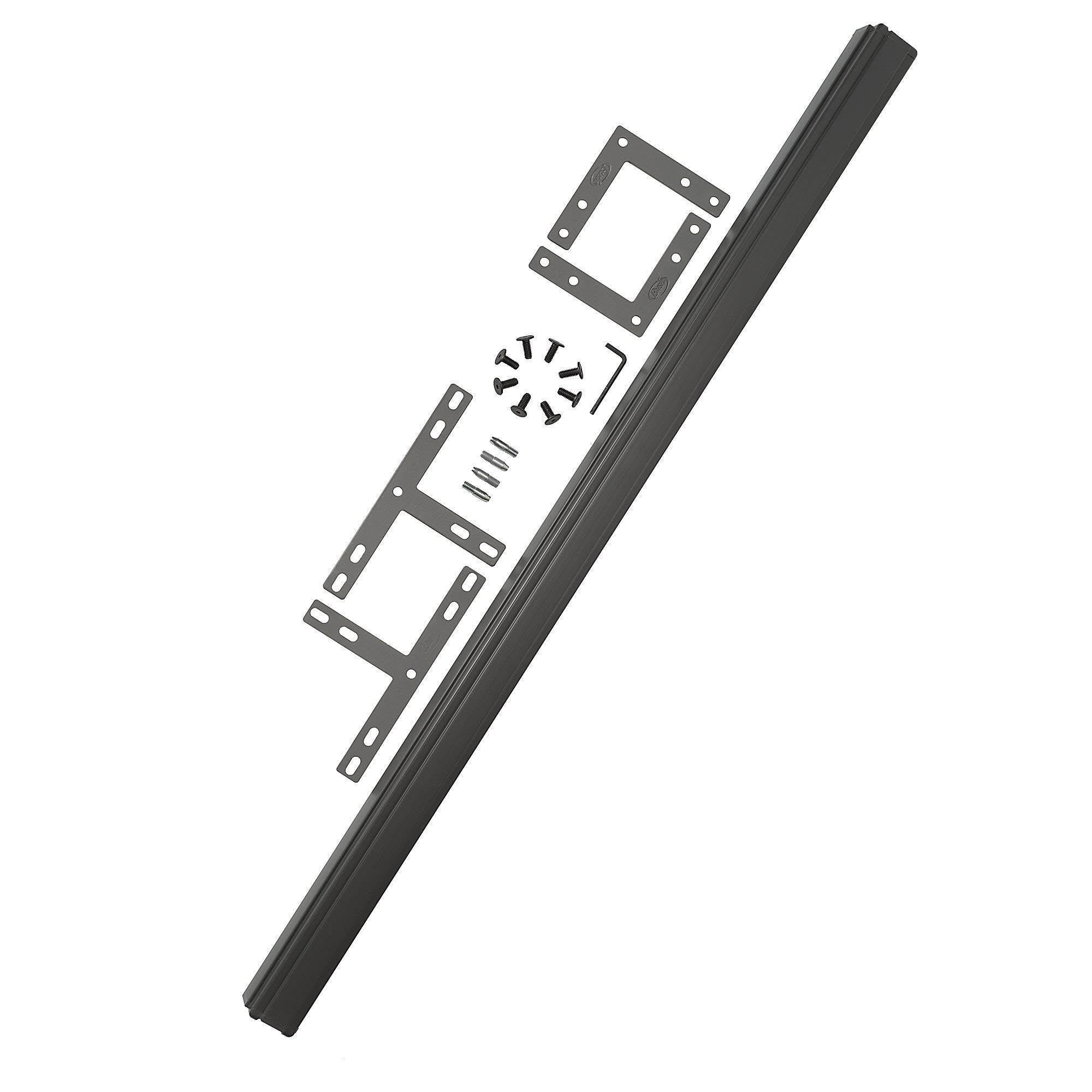 Bush Business Furniture ProPanels - 2 way or 3 way Connector (for 66H Panels) in Slate by Bush Business Furniture