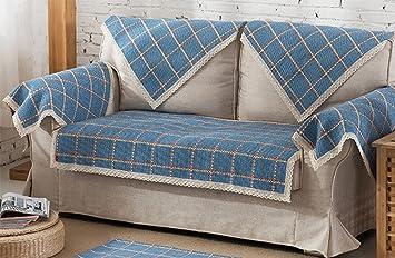 KUKI Cojín de sofá Tejido a Mano de algodón: Amazon.es ...