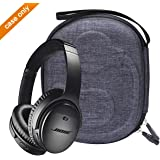 Aproca Hard Storage Carrying Case Compatible with JBL Lifestyle E65BTNC / Bose QuietComfort 35 II Bluetooth Noise-canceling Headphones Blue Bose 35 II