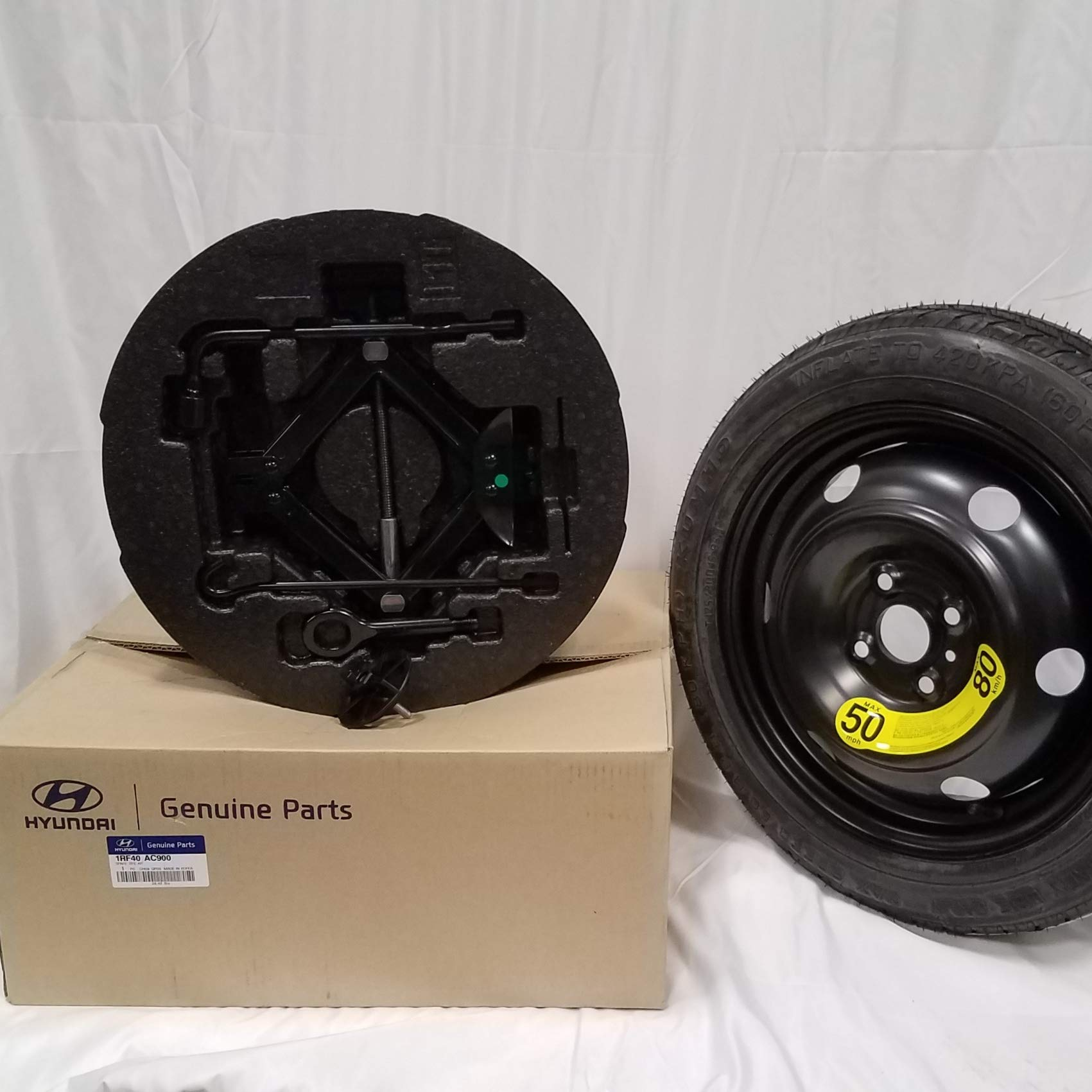HYUNDAI Genuine 1RF40-AC900 Spare Tire Kit