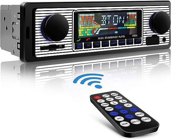 Aigoss Autoradio Mit Bluetooth Freisprecheinrichtung Elektronik