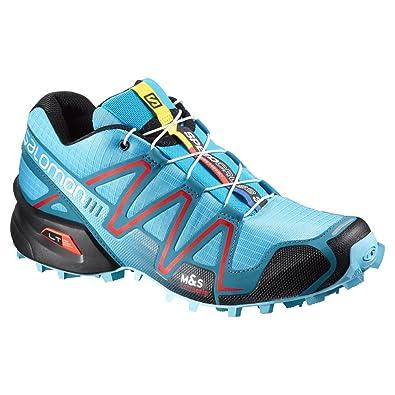 nouveaux styles 33dd5 e6e4d Salomon Speedcross 3 W, Chaussures de Trail Speedcross 3 W Light Onix Topaz  Blue Dark Cloud Femme