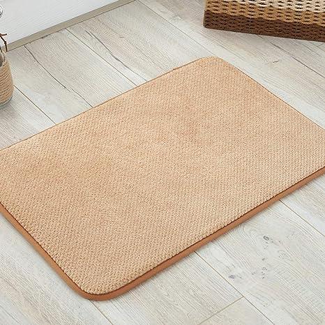 WJ Teppich, rutschfest, saugfähig, langsamer Rückprall, für ...