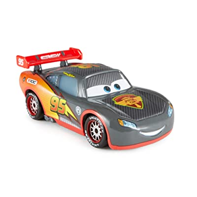 Disney/Pixar Cars Carbon Fiber Diecast Vehicle, Lightning McQueen: Toys & Games