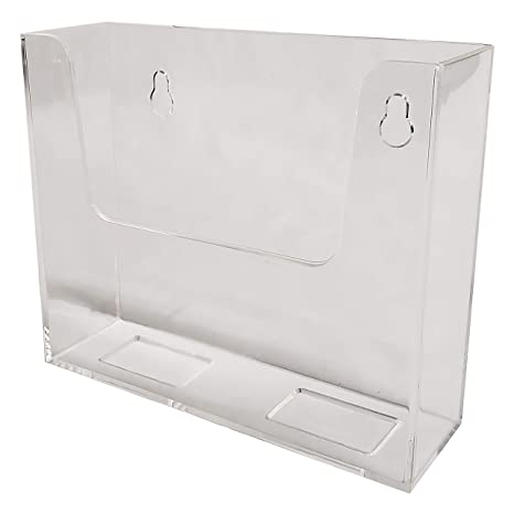 amazon com clear ad lhw m555 clear acrylic wall mount bifold