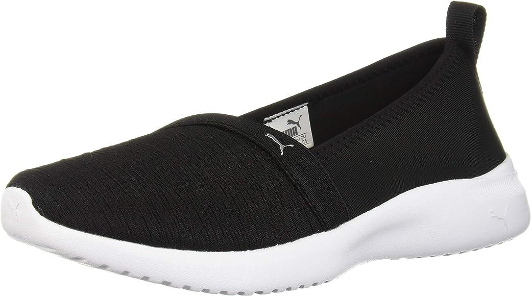 PUMA Women's Adelina Sneaker, Black