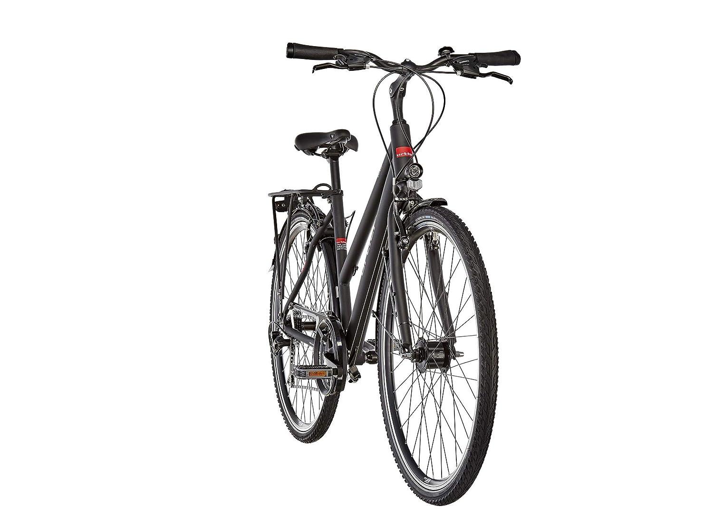 Ortler Mainau Damen schwarz matt 2019 Trekkingrad