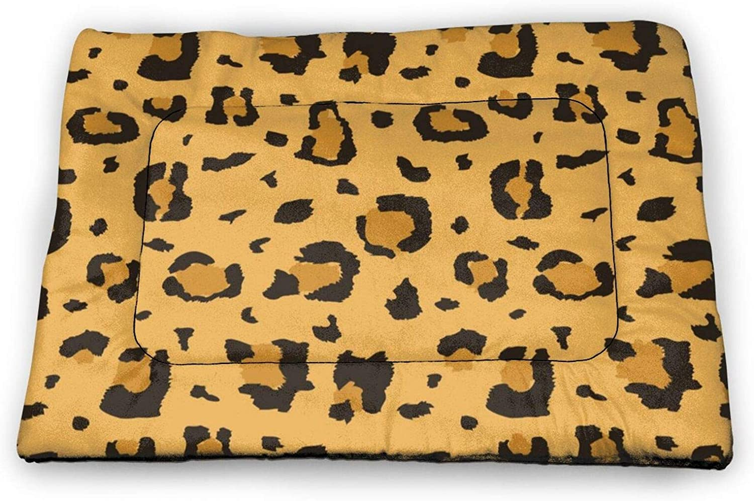 Neddelo African Cheetah Leopard Pet Mat£¬Washable Pads for Dogs,Reusable Puppy Training Pads