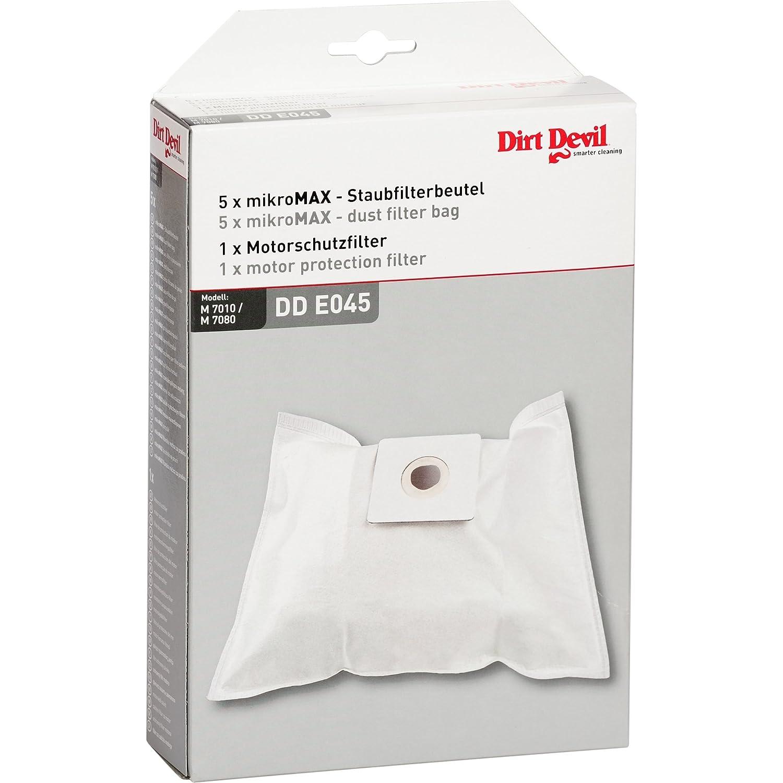 Dirt Devil 7010022 - Juego de 5 bolsas para aspiradoras y 1 filtro ...