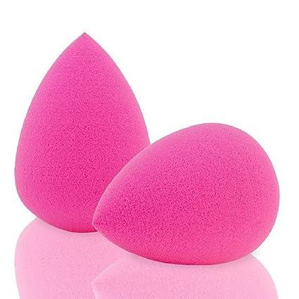 Hilai - 2 esponjas de belleza, sin látex, para maquillaje y base líquida