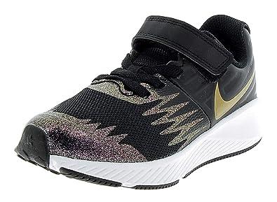 reputable site 6041c 3cb8c Nike Star Runner SH (PSV), Chaussures de Fitness Fille, Multicolore (Black
