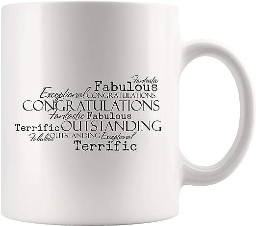 Congrats Dad Ceramic Office Coffee Tea Mug