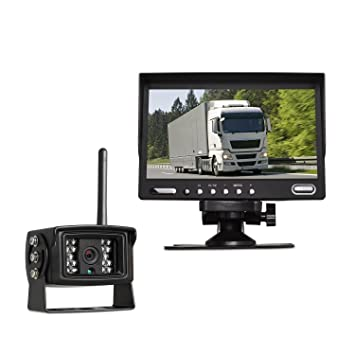 Amazon.com: Auto-Vox Digital Wireless Backup Camera System with 7 ...