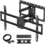 USX MOUNT Full Motion TV Wall Mount for Most 47-84 inch