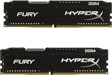 HyperX Fury - Memoria RAM de 16 GB (DDR4, Kit 2 x 8 GB, 2933 MHz ...