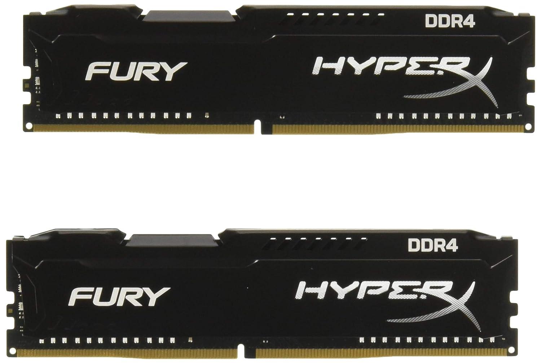 HyperX HX426C16FB//16 16 GB 2666 MHz DDR4 CL16 DIMM 1.2 V 288-Pin Memory Kit Black