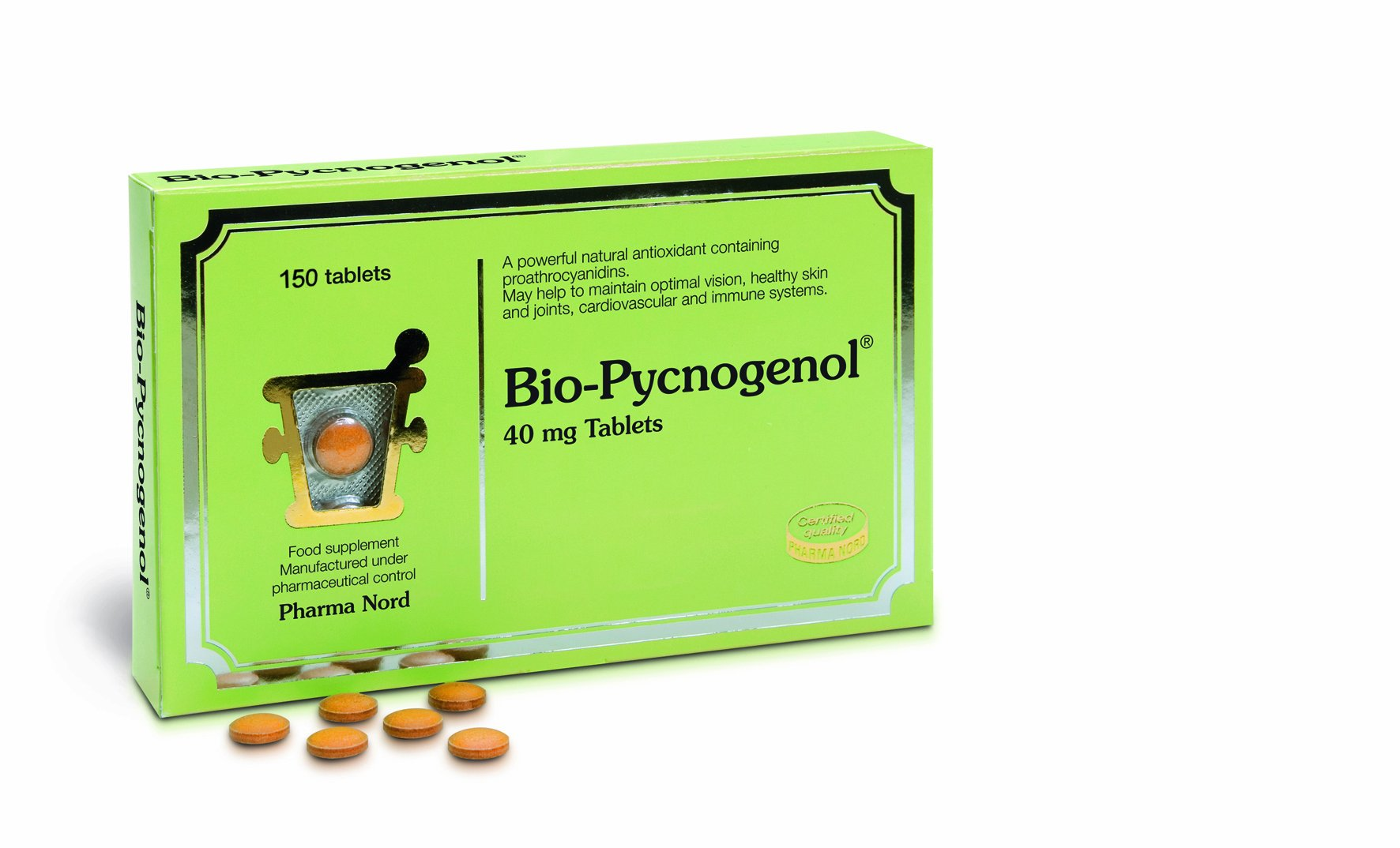 Pharma Nord Bio-Pycnogenol 150 Tablets by Pharma Nord