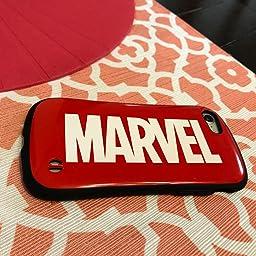 Amazon Co Jp カスタマーレビュー Iface First Class Marvel Iphone Se モデル 8 7 ケース 耐衝撃 ロゴ ブラック