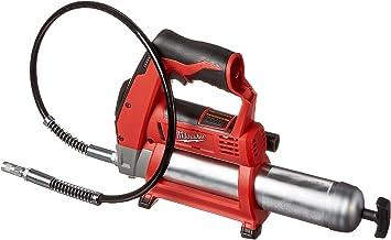 MILWAUKEE Electric Air Grease Gun Cordless Battery Charger Bleeder Valve M12