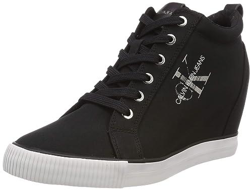 Calvin Klein Ritzy Nylon, Zapatillas Altas para Mujer: Amazon.es: Zapatos y complementos