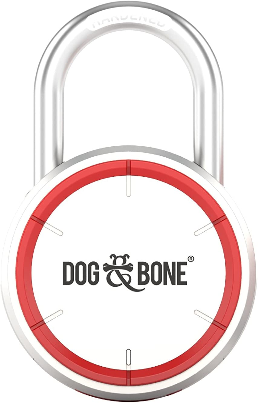 Dog /& Bone DAB-LS001 Locksmart-Cerradura Bluetooth sin Llave-Smart Lock 10.1 x 6.5 x 2.4 cm plata