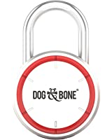 Dog & Bone Locksmart - keyless bluetooth padlock - smart padlock - smart lock - Silver
