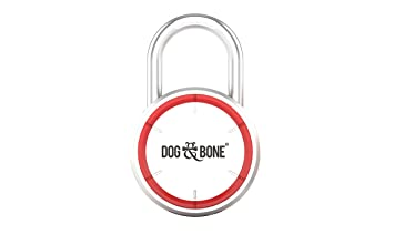 dog bone locksmart keyless bluetooth padlock smart padlock