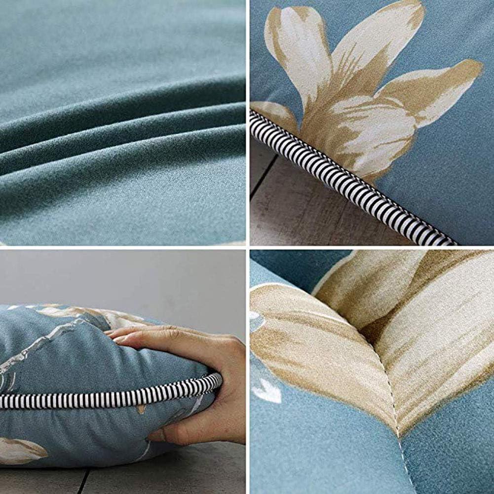 Magnolia Flower Blue Futon Mattress,100/% Cotton Printed Foldable Camping Mattress,Japanese Floor Sleeping Pad Tatami Mat Blue Twin:90x200cm