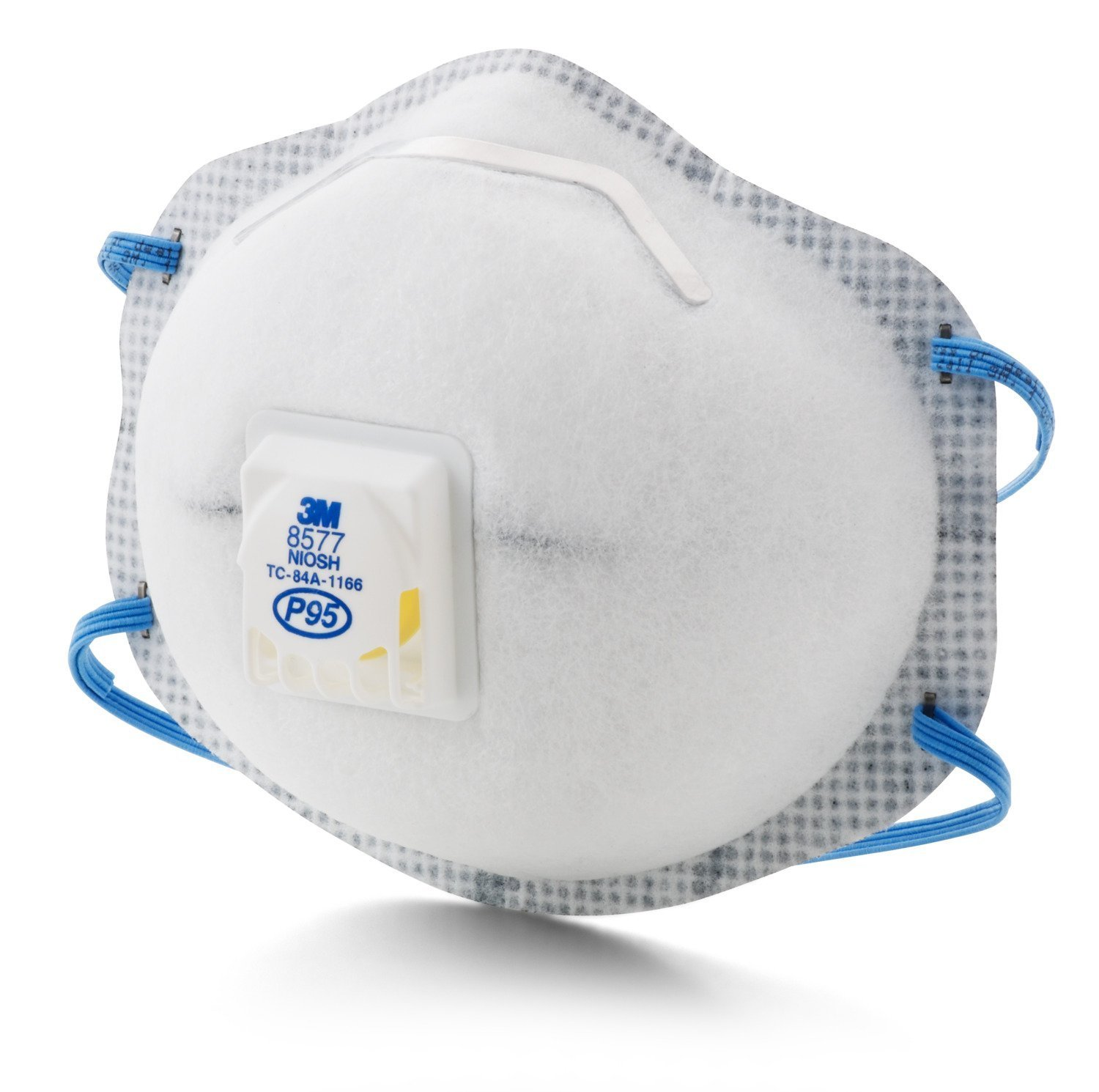 3M 8577 P95 Particulate Respirator with Nuissance Level Organic Vapor Relief (Pack of 60) by 3M (Image #3)